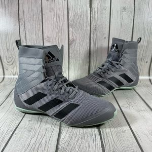 Adidas Speedex 18 Gray Mens Boxing Shoes Sz 7